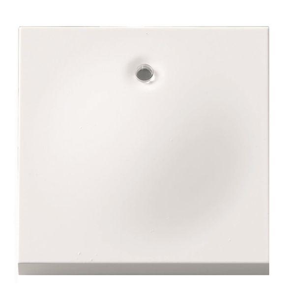 Elko Plus Vipupainike valolla, valkoinen 1-napainen, ilman merkintöjä