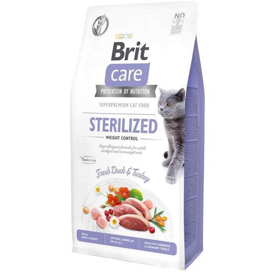 Brit Care Cat Grain Free Sterilized Weight Control (7 kg)