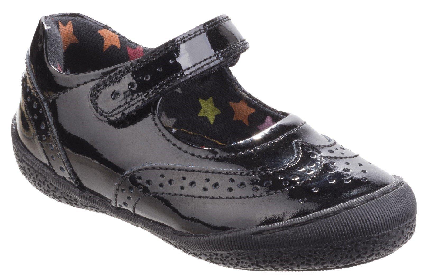 Hush Puppies Women's Rina Touch Fastening Shoe Black 25332 - Black 10