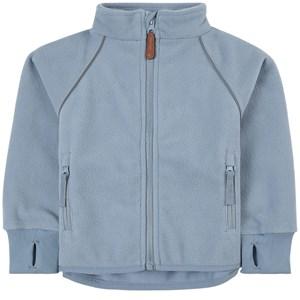 Kuling Livingo Vindfleece-jacka Pale Flintstone Blue 92 cm