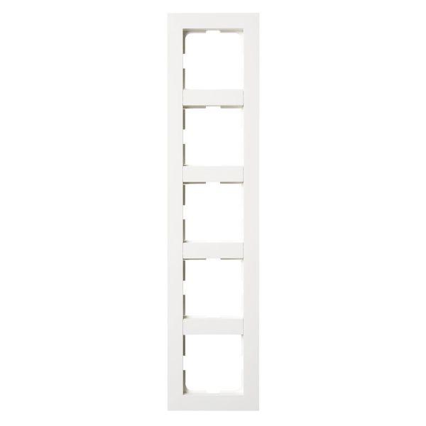 Elko Plus Yhdistelmäkehys valkoinen 5-lokeroinen