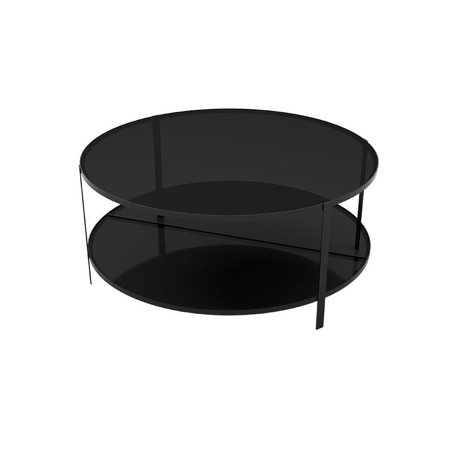 Coffee table FUMI svart, AYTM
