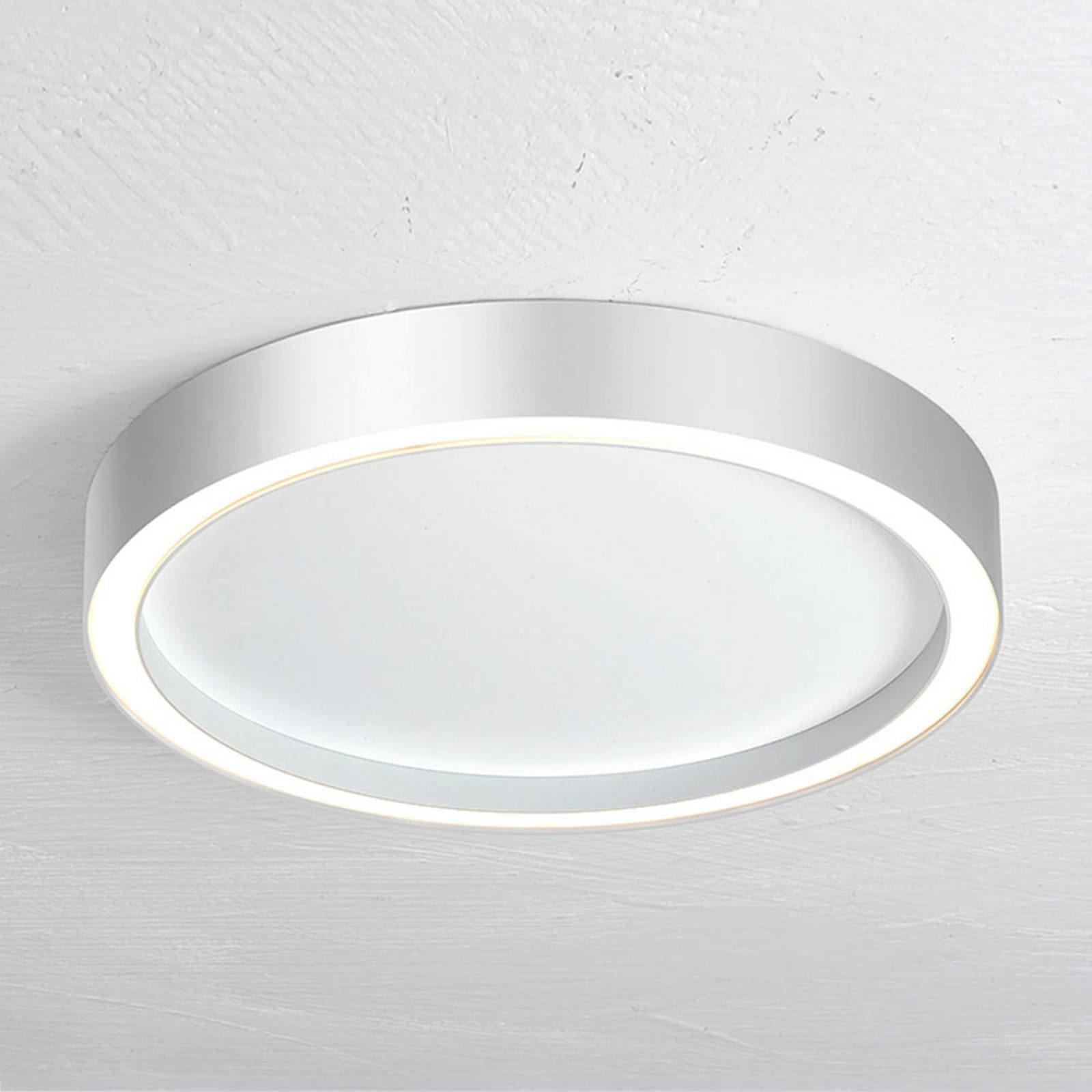 Bopp Aura LED-taklampe med Ø 30cm hvit/aluminium