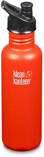 Klean Kanteen Classic Sports Cap Vannflaske 800ml, Sierra Sunset
