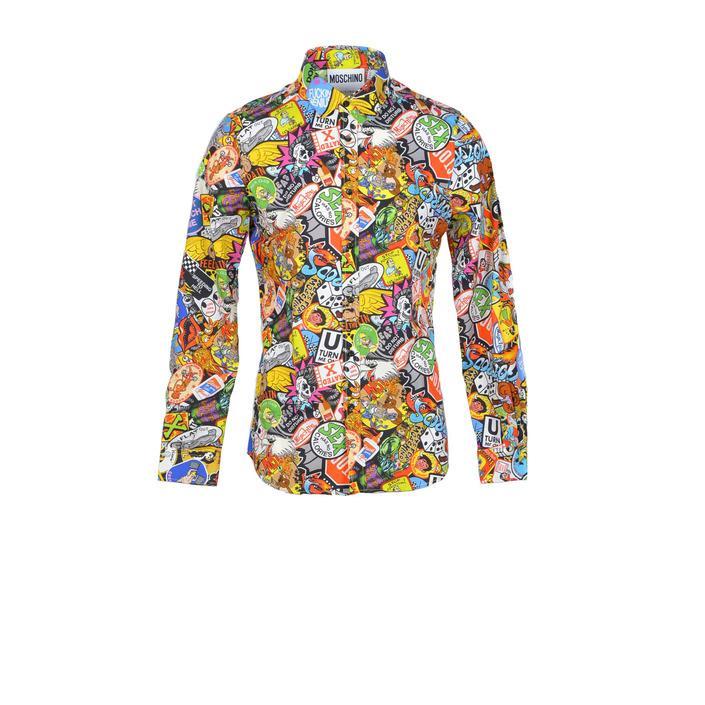 Moschino Couture - Moschino Couture Men Shirt - multicolor 40