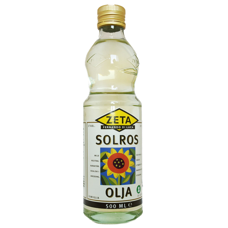Solrosolja - 24% rabatt