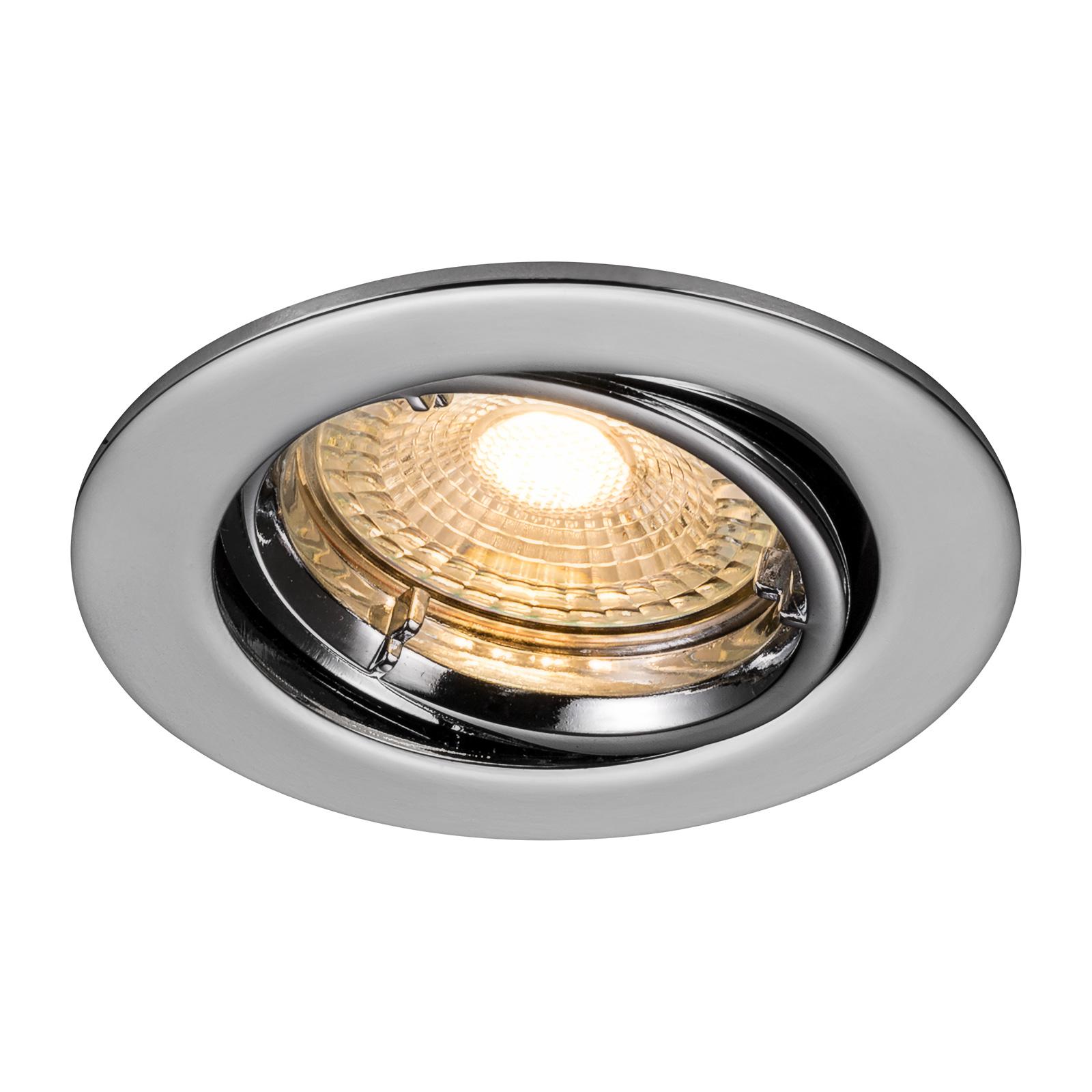 Upotettava LED-kohdevalo Carina 2 700 K, 3 kpl