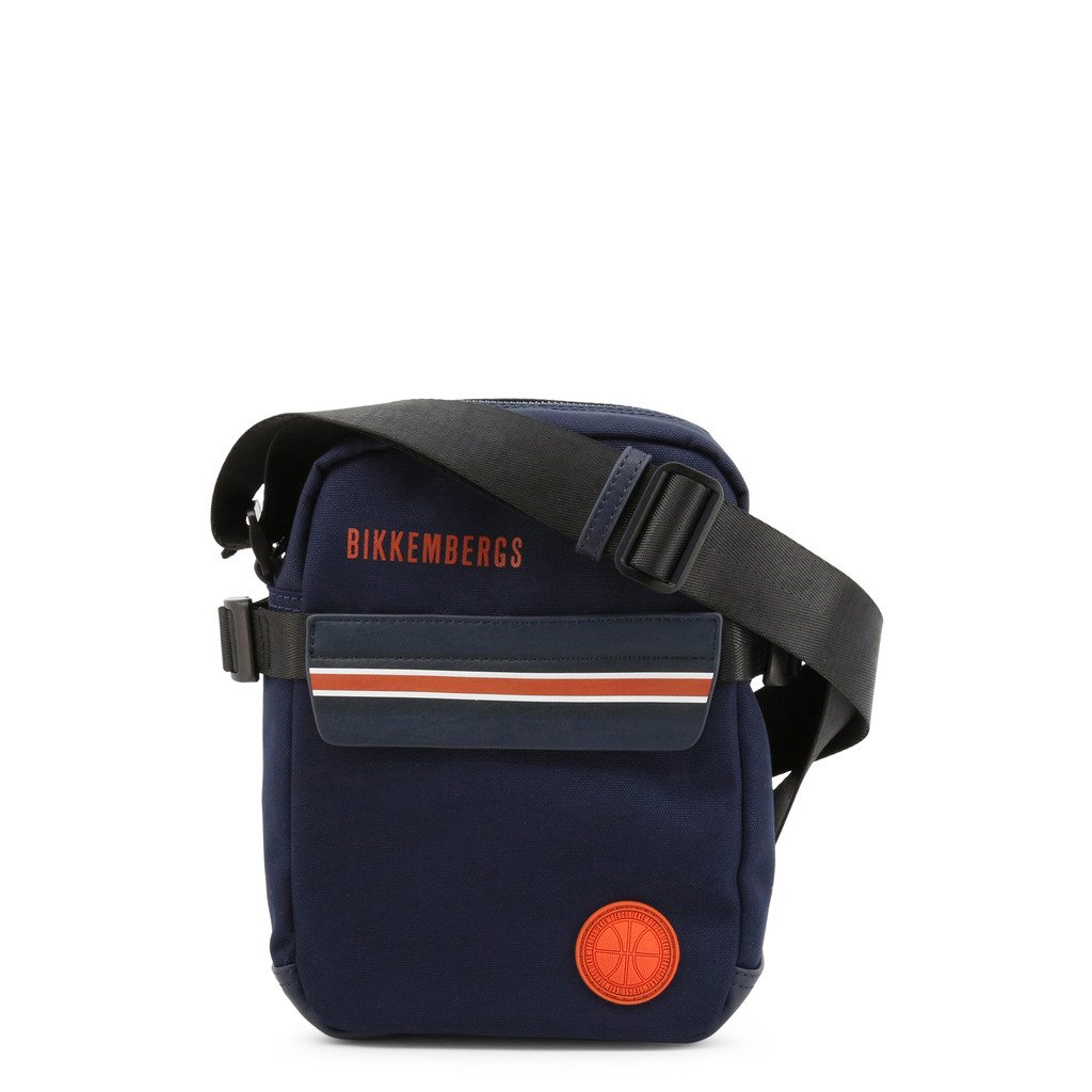 Bikkembergs Men's Crossbody Bag Blue E4APME2A0012 - blue NOSIZE