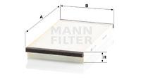 Raitisilmasuodatin MANN-FILTER CU 3020