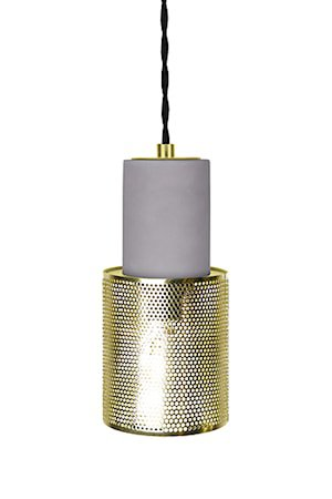 Pendel Mini Rumble Betong/Messing.