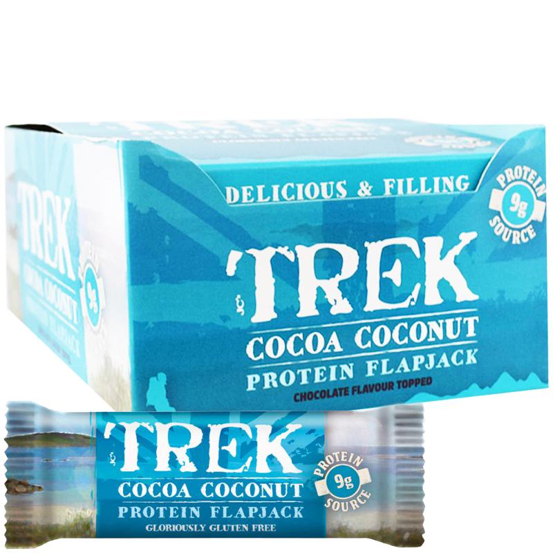 "Hel Låda Proteinbars ""Cocoa & Coconut"" 16 x 50g - 40% rabatt"