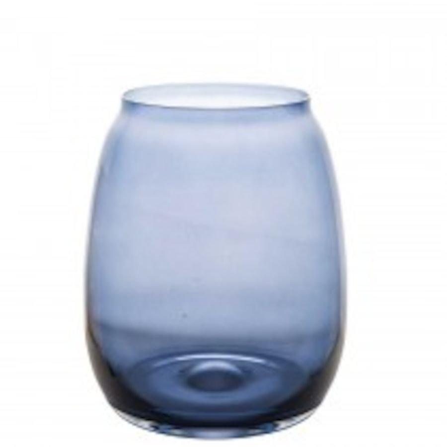 Hadeland Glassverk Siccori Vase 20 cm Blå