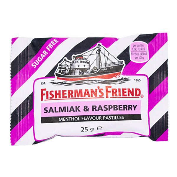 Fishermans Friend Sockerfri Salmiak & Raspberry