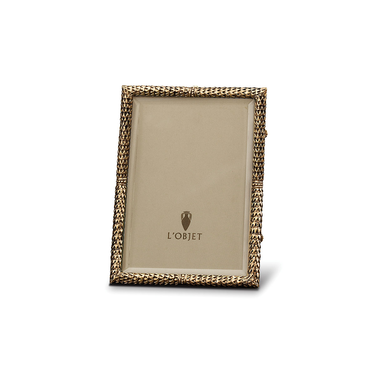 L'Objet I Scales Frame Small Gold