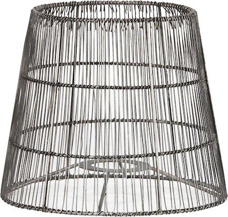 Mia Nordic Lampeskjerm Antikksølv 21 cm
