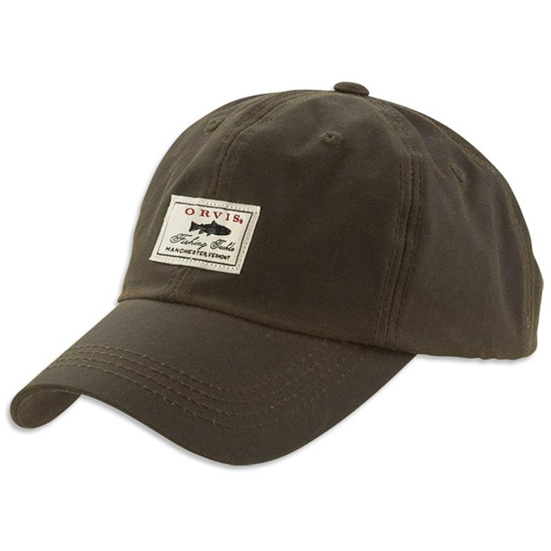 Orvis Vintage Waxed Ball Cap One size - Olive