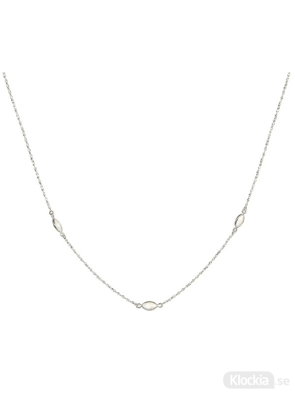 Syster P Halsband Therese Shine Moonstone Silver One Size NS1349