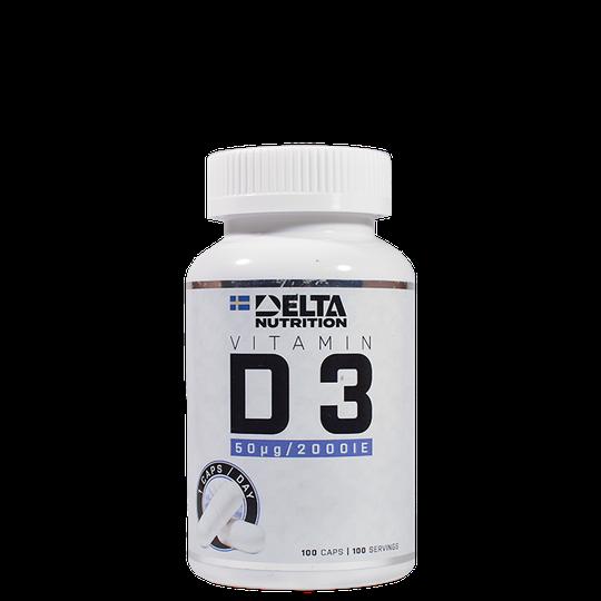 Vitamin D3, 100 caps