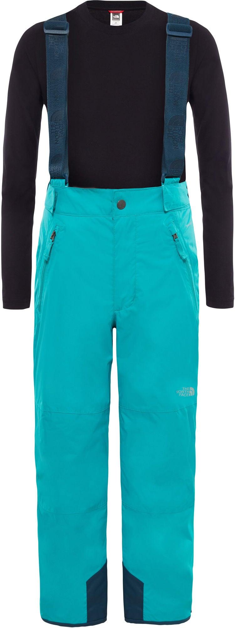 The North Face Snowquest Suspender Plus Byxa Barn, Kokomo Green XL