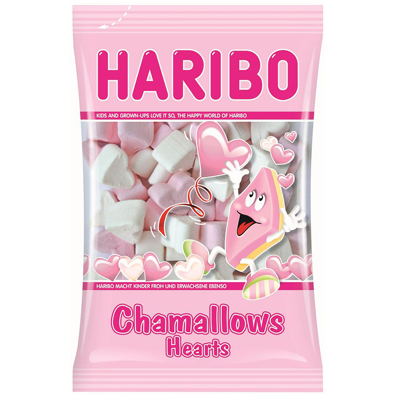 "Godis ""Chamallows Hearts"" 175g - 14% rabatt"