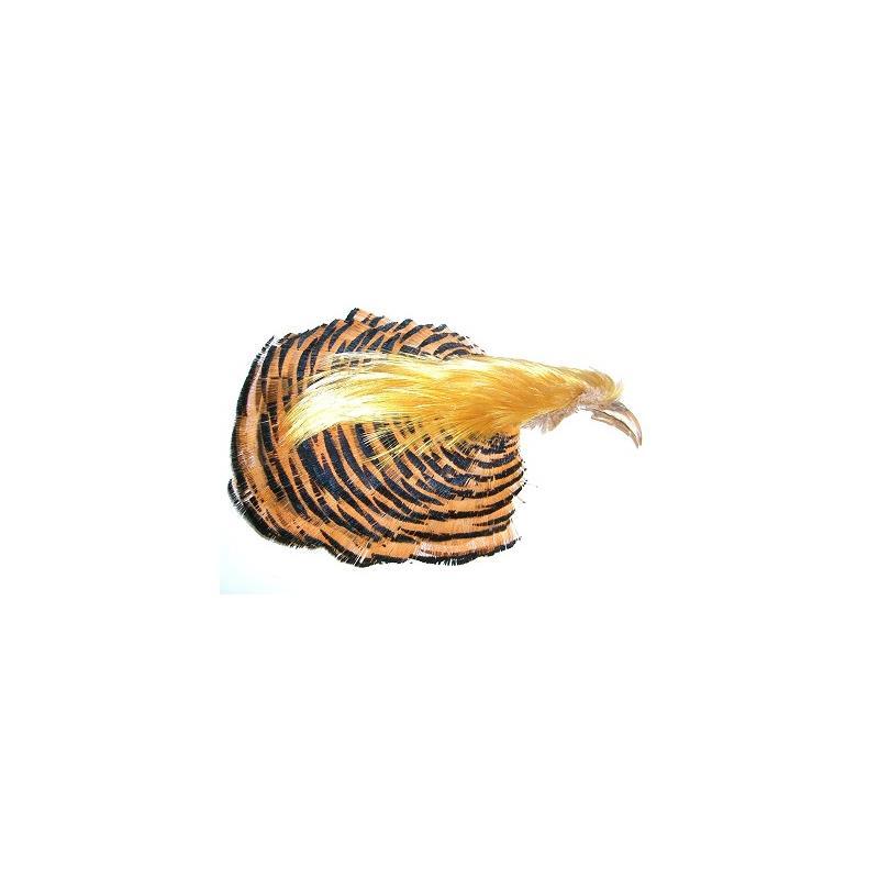 Golden Pheasant Complete Head Helt fasanhode