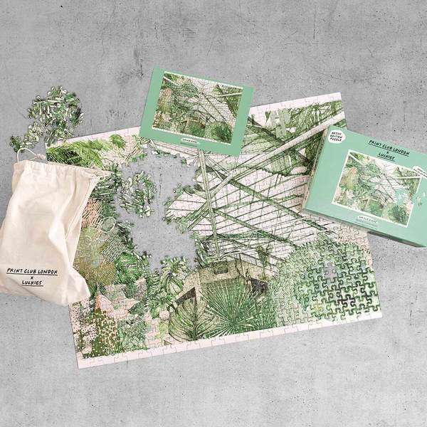 Print Club London x Luckies - Barbican Conservatory Puzzle