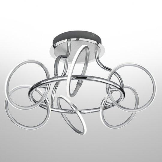LED-kattolamppu Olympus, kuusilamppuinen