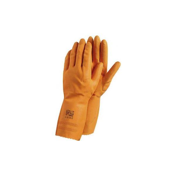 Ansell Extra Käsineet Kemikaalisuojaus, lateksi, oranssi Koko 7,5-8