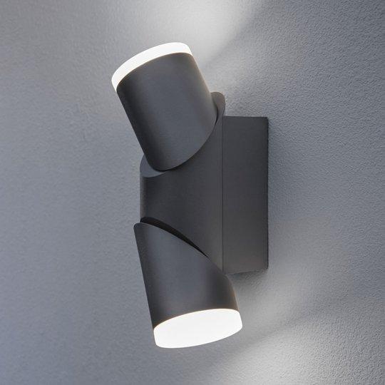 LEDVANCE Endura Style UpDown flex -ulkoseinälamppu