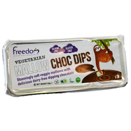 Marshmallows m. chokladdip - 80% rabatt
