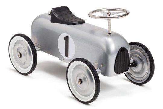 Mini Speeders Classic Gåbil, Sølv