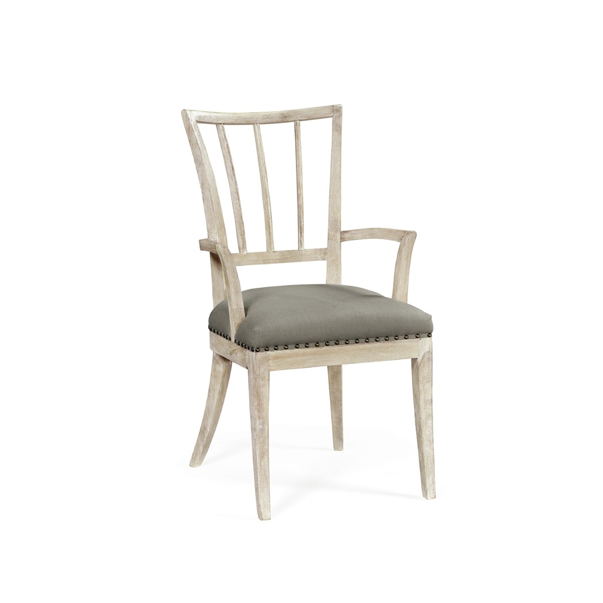 William Yeoward | Lucillo Carver Chair Washed Acacia