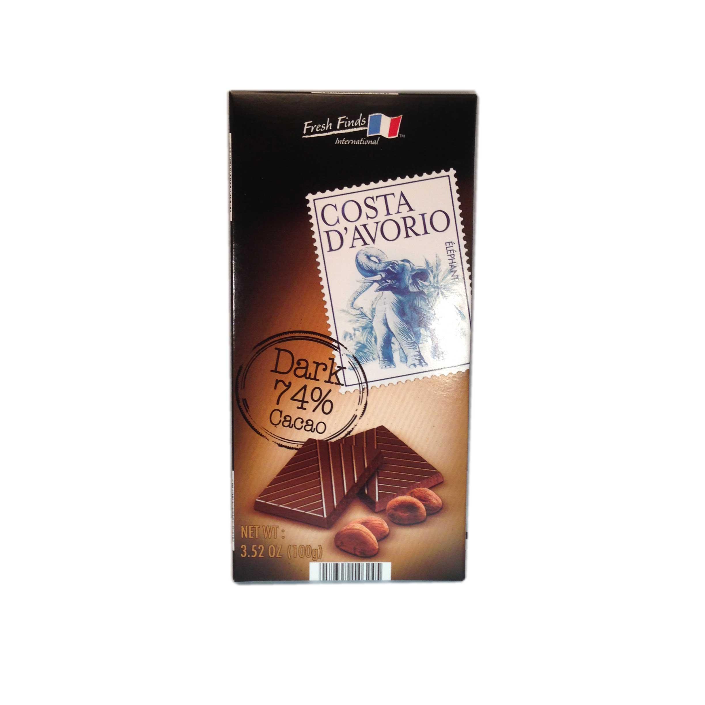 Chokladkaka Costa D'Avorio 74 % - 92% rabatt