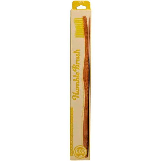 "Tandborste ""Humble Brush"" Gul - 21% rabatt"