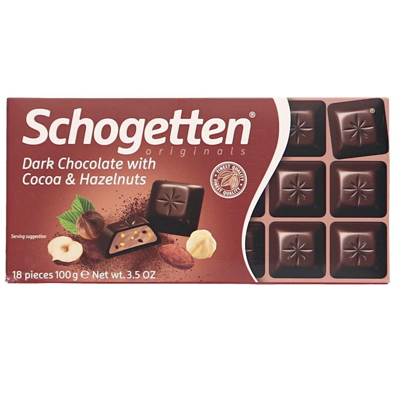 Mörk choklad Kakaokräm Hasselnötter - 11% rabatt