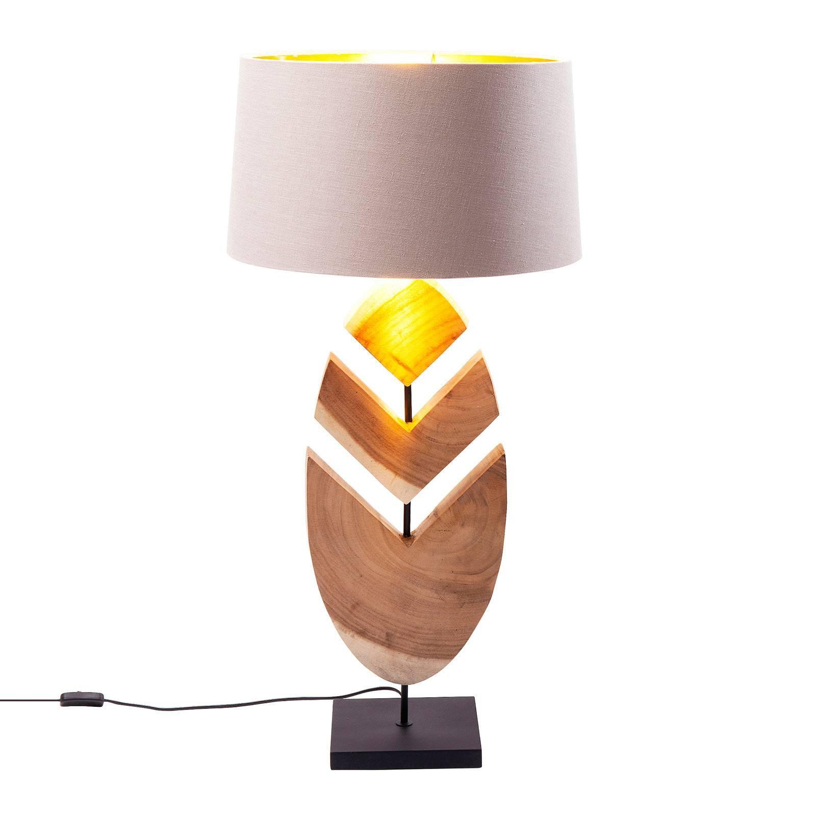 KARE Feather bordlampe med akasiatre