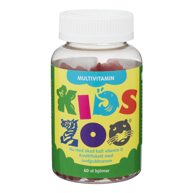 "Kosttillskott ""Kids Zoo"" 60-pack - 40% rabatt"