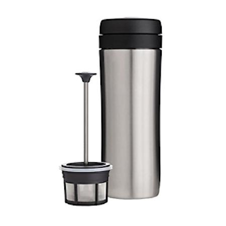 Espro Travel Presskanne Børstet stål, termo, kaffe