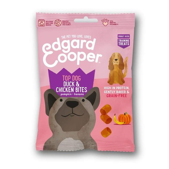 Edgard & Cooper Bites Anka & Kyckling 50 g