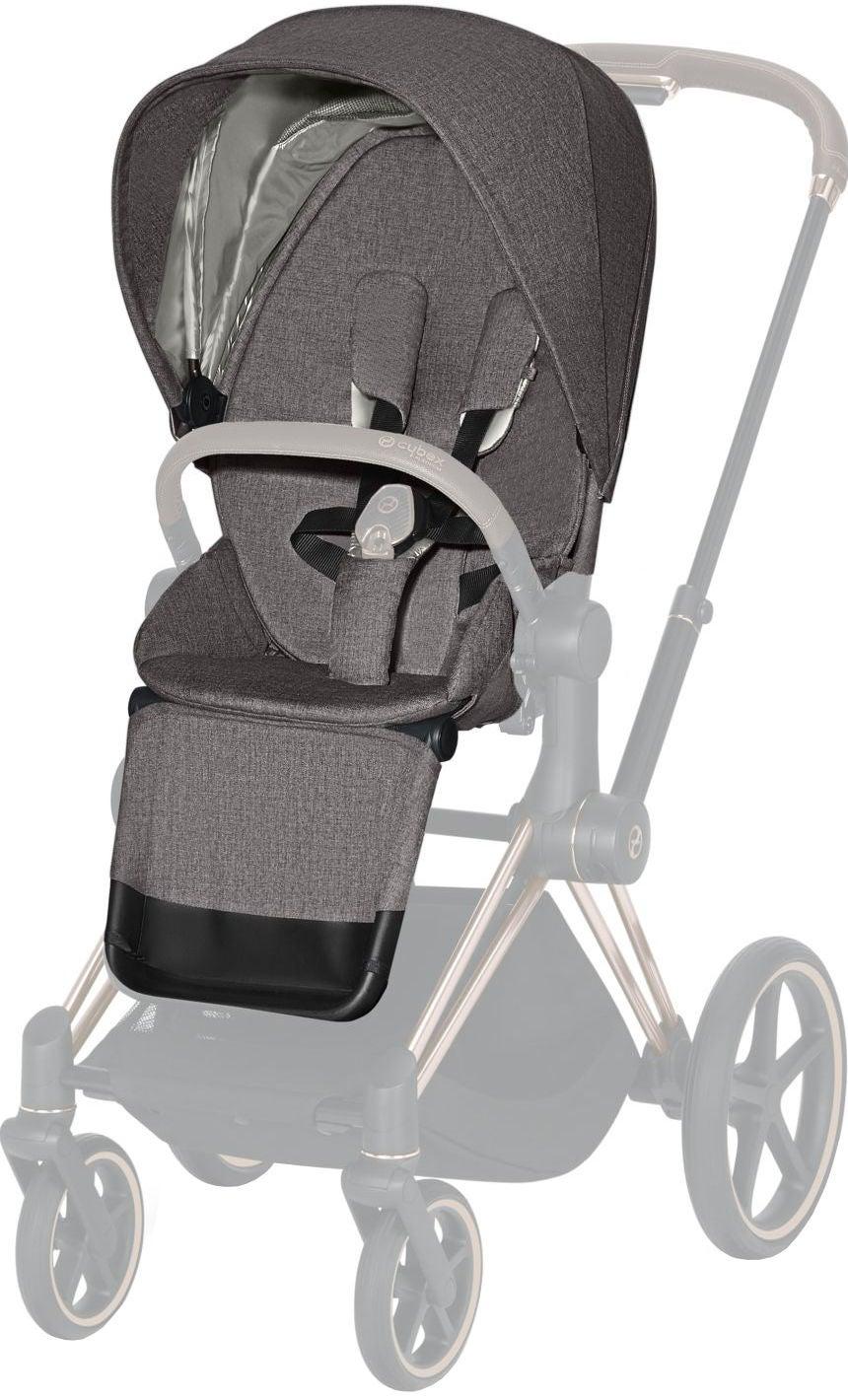 Cybex Priam Plus Färgklädsel, Manhattan Grey