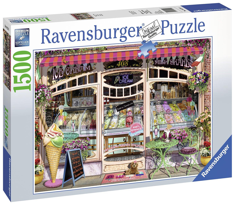 Ravensburger Pussel Glassbutik 1500 Bitar