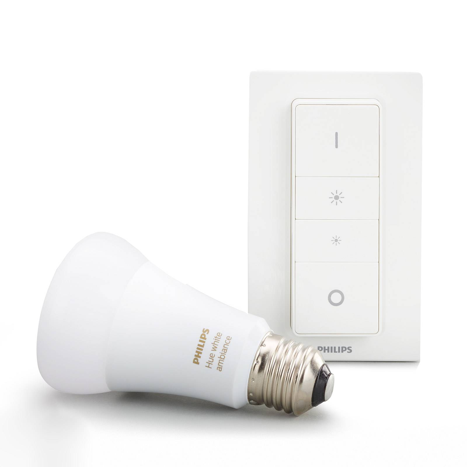 Philips Hue White Ambiance 8,5W E27, himmennys