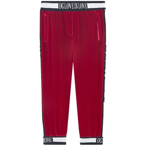 Dolce & Gabbana Mini Me Mjukisbyxor Röda 8 år