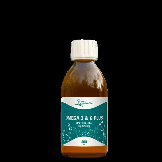 Omega 3 & 6 Plus, 200 ml