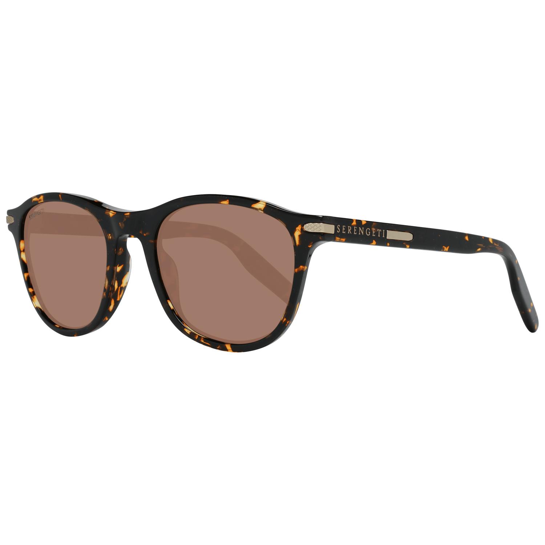 Serengeti Men's Sunglasses Brown 8689