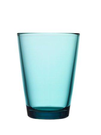 Kartio Glass Havsblå 40 cl 2-pakk