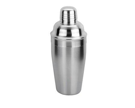 Shaker med sil matt stål 0,5 liter