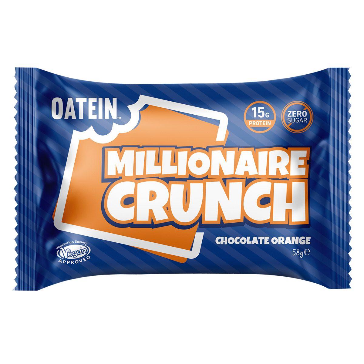 Oatein Millionaire Crunch - Chocolate Orange 58g