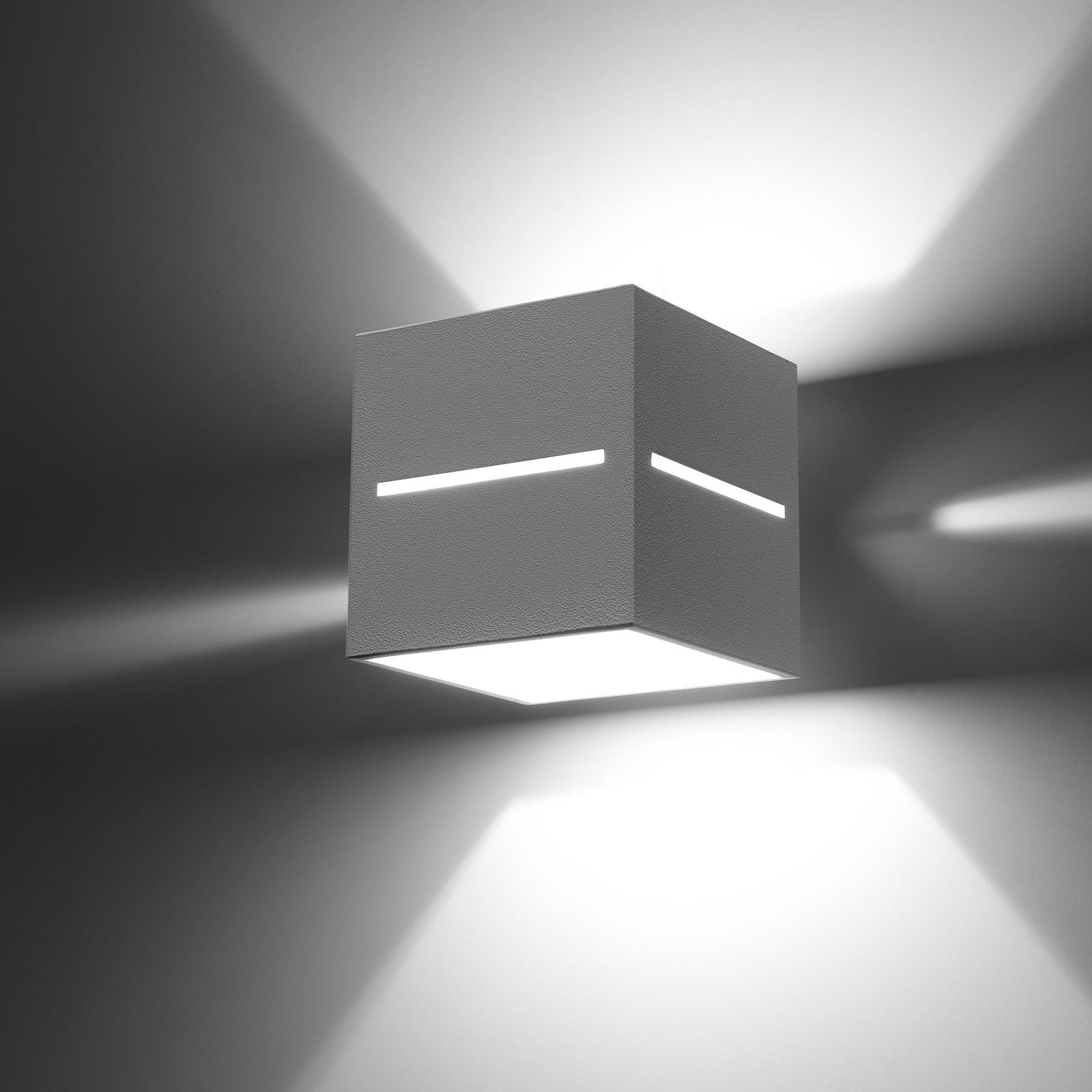 Seinävalaisin Top ylös/alas, valkoinen runko