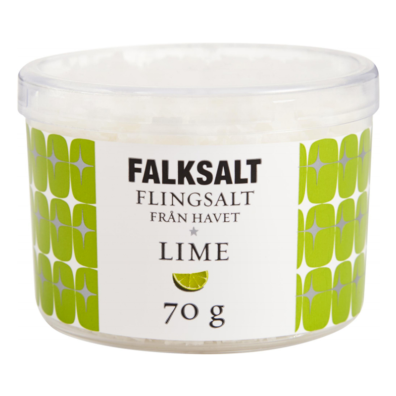 Flingsalt Lime 70g - 50% rabatt
